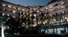 Five-star grand hotel on the shores of Lake Lugano, Grand Hotel Villa Castagnola, Switzerland