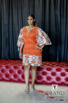 The latest collection of the most beautiful plus size ankara gown styles for chubby ladies, big tummy ankara gown styles Short African Dresses, Ankara Short Gown Styles, African Blouses, Trendy Ankara Styles, Ankara Gowns, Latest African Fashion Dresses, African Print Dresses, African Print Fashion, Africa Fashion