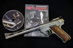 AMT Baby Auto Mag 22lr Clint Eastwood Sudden Impact Only 1000 made.  #maine #amt #automag #clint #eastwood #movie #gun #pistol #handgun Baby Auto, Baby Car, Handgun, Firearms, Sudden Impact, East Wood, 22lr, Clint Eastwood, Maine