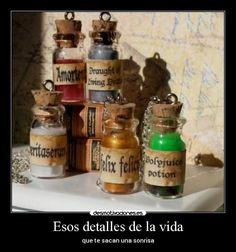 frascos de pociones harry potter - Google Search