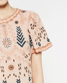Image 7 of EMBROIDERED TOP from Zara