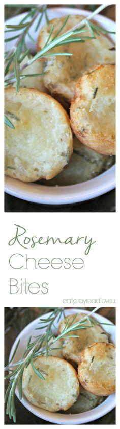 Perfect Rosemary Cheese Bites - Eat Pray {Read} Love
