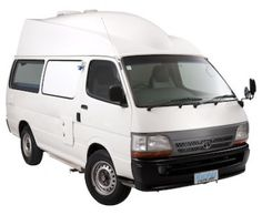 Lucky Chaser High Top Campervan - 2 Berth