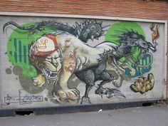 Rue Raspail, Bagnolet - Street Art