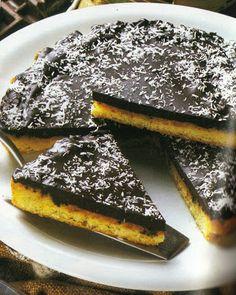 Crostata al cioccolato e cocco.