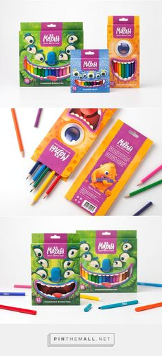 The Muzzles - Creative #Stationary Goods #packaging by Brandiziac - http://www.packagingoftheworld.com/2015/03/the-muzzles-creative-stationary-goods.html