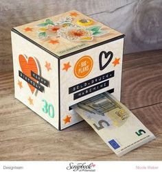 Gift Box Gifts of money ° 1 . Cute Origami, Useful Origami, Origami Tutorial, Origami Easy, Crafts For Teens, Diy And Crafts, Paper Crafts, Diy Gifts Last Minute, Diy Cardboard
