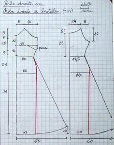 patron_femme_2robes_bretell ajouter 1cm par taille sur les mesures