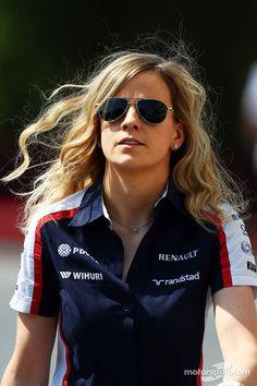 Babe in the pitline!, Susie Wolff, Williams Development Driver
