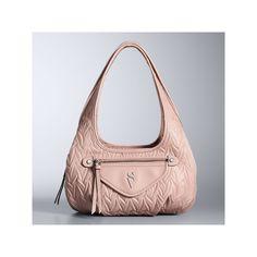 Simply Vera Vera Wang Sidekick Satchel, Women's, Med Pink
