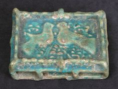 Glass Medallion with Molded Decoration Object Name: Medallion Date: century Geography: Afghanistan Culture: Islamic Medium: Glass Afghanistan Culture, Five Thousand, Prehistory, 12th Century, Museum Of Fine Arts, World Cultures, Pottery, Model, Islamic Art
