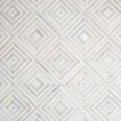 Afyon White, Thassos Multi Finish Bryce Marble Mosaics 12 - Country Floors of America LLC. Afyon White, Thassos Multi Finish Bryce Marble Mosaics 12 - Country Floors of America LLC. Marble Mosaic, Stone Mosaic, Mosaic Tiles, Mosaic Mirrors, Cement Tiles, Porcelain Tiles, Wall Tiles, New Ravenna, Modern White Bathroom