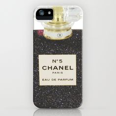 Black Chanel iPhone Case