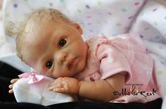 NeSSa DoLL KiT By MaRiTa WiNtErS WiTh DoLL BoDy ~ REBORN DOLL SUPPLIES