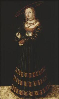 The Princess - Lucas Cranach the Elder