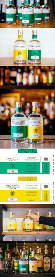 Tommyrotter Distillery — The Dieline | Packaging & Branding Design & Innovation News