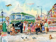 500pc British Pier jigsaw puzzle | Cobble Hill Puzzle Company