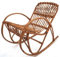 rocking chair cane circle bungee 17 best chairs images home decor balcony bohemian house vintage retro mid century furniture ebay