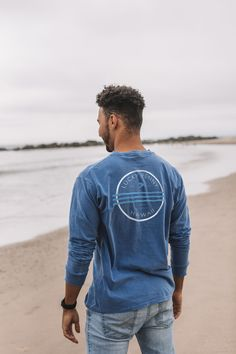 Dream in color with Vivid Dream Wave design.  Great design for men & women.  Shop now!  #share aloha #staysalty @luckypennyhawaii Vivid Dream, Lucky Penny, Wave Design, Hawaii, Shop Now, Mens Tops, Shopping, Color, Women