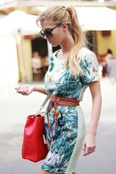 #vestido #h #tropical