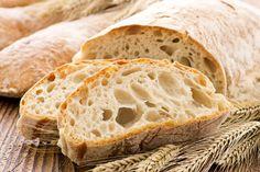 Italian Bread Recipes, Quick Bread Recipes, Ciabatta Bread Recipe, Rustic Bread, Pasta Salad Recipes, Jamie Oliver, Artisan Bread, Food To Make, Appetizer Recipes