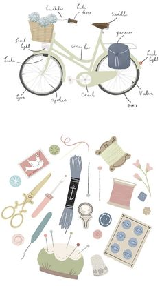 CLAIRE OWEN ILLUSTRATION ~ oh my design blog - graphic design + other pretty things