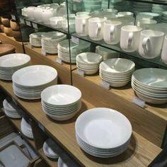 MUJI Bone China Dishware