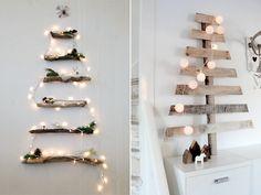 DIY Alternatieve kerstbomen