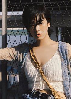 Asian Actors, Korean Actresses, Pretty People, Beautiful People, Street Snap Fashion, My New Haircut, Tomboy Hairstyles, Asian Short Hair, Shot Hair Styles