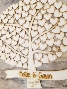 Wedding Tree Guestbook Puzzle Tree Alternative by PerfectParcels1