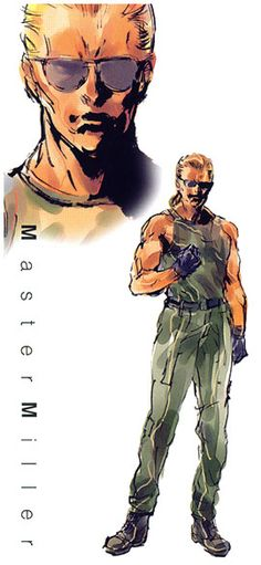 Master Miller, Metal Gear Solid 1