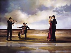 Dance with Me by Ron DiScenza Kunstdruk
