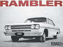 Rambler Classic - Wikipédia, l'encyclopédie libre