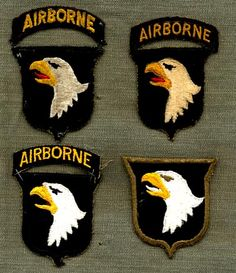 C b screaming eagles patch