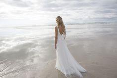 Das Brautkleid Djena von Rembo Styling im Vintage Stil.