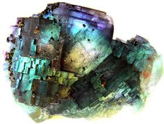 Fluorite & Chalcopyrite / Germany / Mineral Friends <3