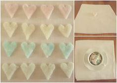 #diy sugar hearts