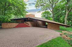 An Untouched Frank Lloyd Wright House Is For Sale