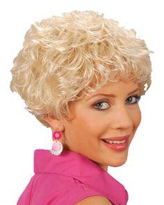 Blonde feestpruik Shirley Bassey
