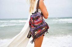 tribal backpack!
