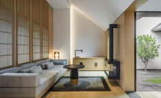 The suites at Amanyangyun have been designed like a traditional Chinese house with a courtyard
