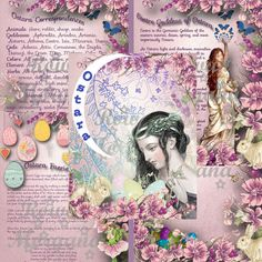 OSTARA  Digital Download   5 Pages Book of by MorganaMagickSpell