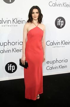 Rachel Weisz continues her Cannes fashion tour de force in this silk red Calvin Klein dress. Celebrity Dresses, Celebrity Style, Cannes Film Festival 2015, Cannes 2015, Calvin Klein Collection, Rachel Weisz, Red Carpet Looks, Star Fashion, High Fashion