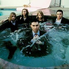 Maroon 5 - You're doing it wrong guys... its SWIM suits... NOT SUIT SUITS when u get in the hot tub. lol