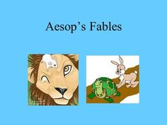 Aesop's Fables. The legend tells it that Aesop lived during the sixth century BC. Male Deer, Lion And The Mouse, Romulus And Remus, Farm Yard, Aesop, Retelling, Morals, Long Legs, Lessons Learned