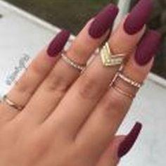 Manicure outono