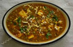 Tasty Matar Paneer Chili, Soup, Tasty, Ethnic Recipes, Chile, Soups, Chilis
