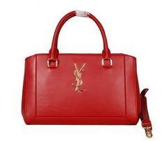 8fabad63f6 Wholesale Réplique Sac Yves Saint Laurent classique Duffle 8335 Rouge -  €251.81   réplique sac
