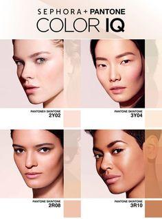 Sephora + Pantone Color IQ