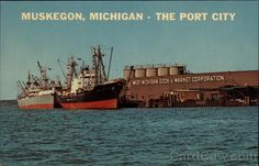 Muskegon, Michigan - The Port City